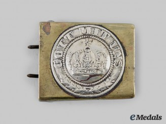 Germany, Imperial. A Prussian EM/NCO Belt Buckle c.1870