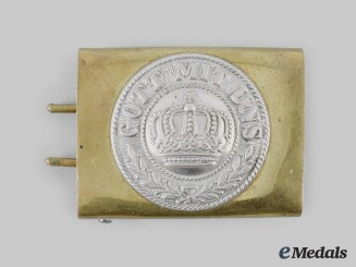 Germany, Imperial. A Prussian EM/NCO Belt Buckle, c.1914
