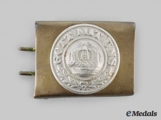 Prussia, Kingdom. A Prussian EM/NCO Belt Buckle