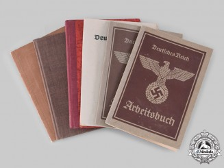 Germany, Third Reich. A Lot of Identity Documents