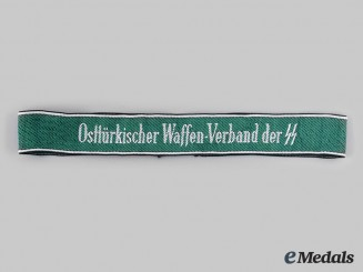 Germany, SS. An Osttürkische Waffen-Verbände Cuff Title