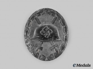 Germany, Wehrmacht. A Wound Badge, Silver Grade, by B.H. Mayer