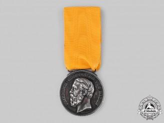 Baden, Grand Duchy. A Silver Merit Medal, by Christian Schnitzspahn