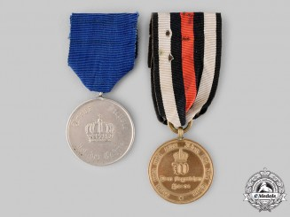 Germany, Imperial. A Pair of Service Medals