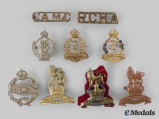 Canada. A Lot of Nine First War, Second War and Post War Badges