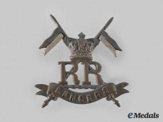 United Kingdom. A Boer War Her Majesty's Reserve Regiment of Lancers Collar Badge c. 1900-1901, Rare