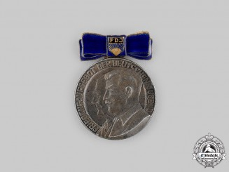 Germany, DDR. A Free German Youth (FDJ) Peace Medal