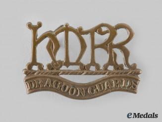 United Kingdom. A Boer War Her Majesty's Dragoon Guards Shoulder Title 1900-1901