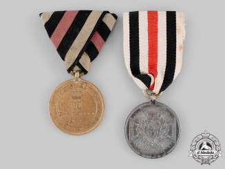 Germany, Imperial. A Pair of Commemorative Medals for 1870/1871