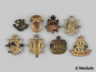 Canada. A Lot of Eight Atlantic Provinces Based Regimental Badges