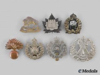 Canada. A Lot of Seven First War & Second War Manitoba Based Regimental Badges