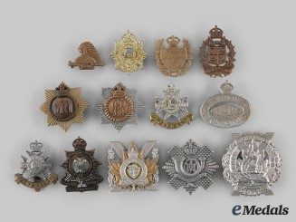 Canada. A Lot of Thirteen Ontario Based Regimental Badges
