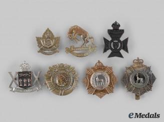 Canada. A Lot of Seven Second War Saskatchewan Based Regimental Badges