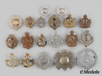 Canada. A Lot of Nineteen Ontario & Quebec Based Regimental Badges