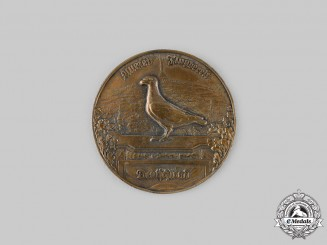 Germany, Imperial. A Messenger Pigeon Breeder's Merit Medal
