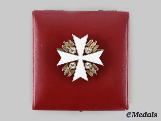 Germany, Third Reich. An Order of the German Eagle, II Class Cross with Case, by Gebrüder Godet