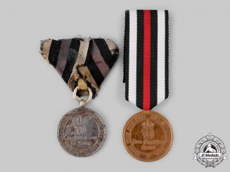 Germany, Imperial. A Pair of Franco-Prussian War Medals