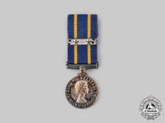 Canada. A Royal Canadian Mounted Police Long Service Medal, Miniature