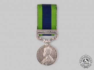 United Kingdom. An India General Service Medal 1908-1935, 2nd Battalion, 56th Punjabi Rifles