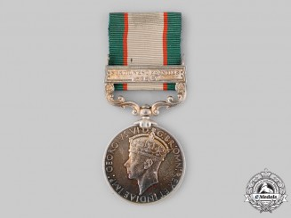 United Kingdom. An India General Service Medal 1936-1939, 2nd Battalion, 4th Bombay Grenadiers