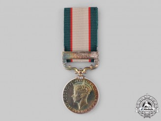 United Kingdom. An India General Service Medal 1936-1939, 3rd Battalion, 14th Punjab Regiment