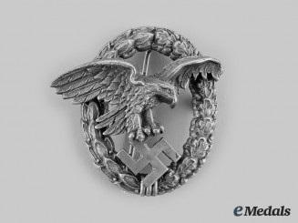 Germany, Luftwaffe. An Observer Badge, by Paul Meybauer