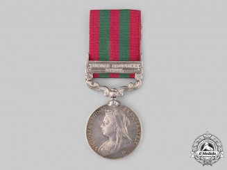 United Kingdom. An India Medal 1895-1902, to Sepoy Thakur Singh, 36th Sikhs