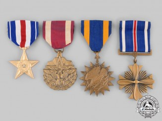 United States. Four Awards & Decorations