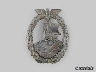 Germany Kriegsmarine. An Auxiliary Cruiser War Badge