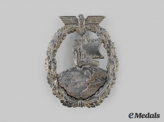 Germany Kriegsmarine. An Auxiliary Cruiser War Badge