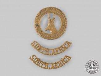 South Africa, Republic. A General Service Insignia Set, c.1945