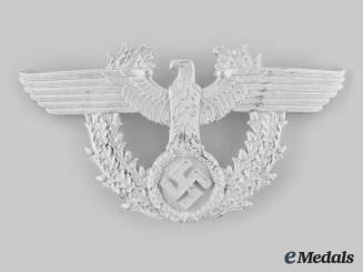 Germany, Ordnungspolizei. A Shako Eagle, by Steinhauer & Lück