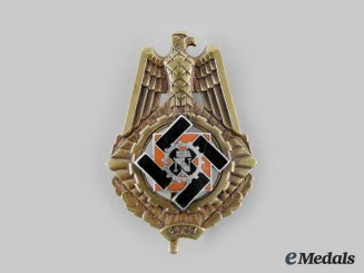 Germany, TeNo. A Technical Emergency Help Service Honour Badge, by Wilhelm Fühner