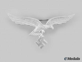 Germany, Luftwafe. An Officer's Summer Uniform Breast Eagle