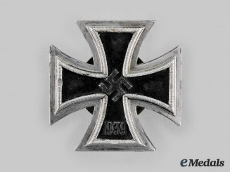 Germany, Wehrmacht. A 1939 Iron Cross, I Class, by C.E. Juncker