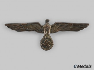 Germany, Heer. An Officer's Summer Uniform Breast Eagle