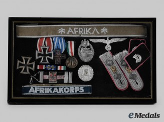 Germany, Wehrmacht. An 8th Panzer Regiment Veteran's Awards