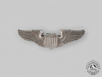 United States. An Army Air Force Pilot Badge, by Amcraft, c.1942
