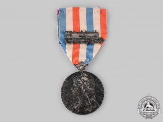 France, III Republic. A Medal of Honour for the Railways, c.1918