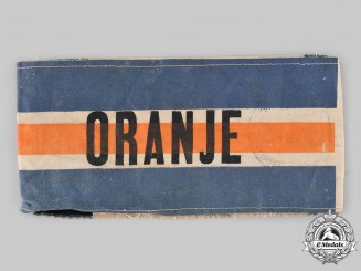 Netherlands, Kingdom. A Dutch Resistance Member's Armband