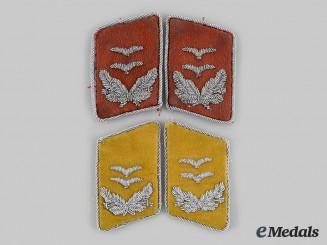 Germany, Luftwaffe. A Lot of Oberleutnant Collar Tabs