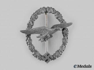 Germany, Luftwaffe. A Late War Glider Pilot Badge