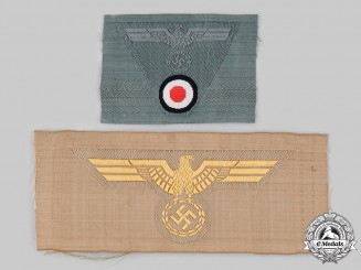 Germany, Wehrmacht. A Pair of Breast Eagle Insignia