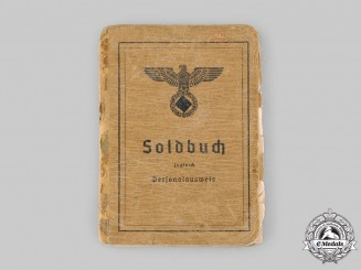 Germany, Heer. A Soldbuch, Obergefreiter, Infanterie-Ersatz-Bataillon 191