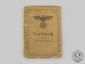 Germany, Heer. A Soldbuch, Obergefreiter, Infanterie-Ersatz-Bataillon 8