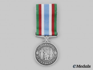 Canada, Commonwealth. A Peacekeeping Service Medal