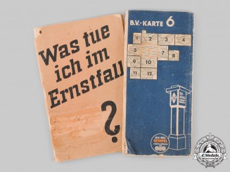 Germany, Third Reich. A Pair of Second War Period Documents.