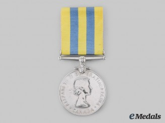 Canada, Commonwealth. A Korea Medal 1950-1953
