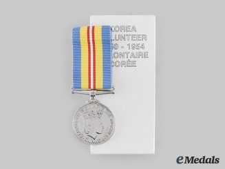 Canada, Commonwealth. A Volunteer Service Medal for Korea