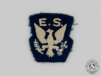 United States. A Rare Eagle Squadrons Patch